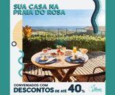Village Praia do Rosa: Desconto de até 40% para Associados e Dependentes