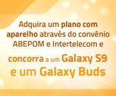 Adquira um plano com aparelho e concorra a um Galaxy S9 e um Galaxy Buds