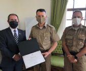 Comandante da PMSC recebe diploma de Presidente de Honra da ABEPOM