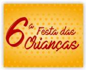 Convite: Participe da 6� Festa das crian�as