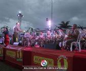 Beira-Mar Continental recebe primeira apresentação dos Recitais de Natal da PM