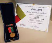 ABEPOM recebe Medalha Amigo da Polícia Militar