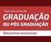 Faça seu curso de Graduação ou Pós-Graduação com faculdades parceiras