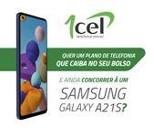 PROMOÇÃO   Adquira plano da 1Cel Telecom e concorra a Samsung Galaxy A21S!