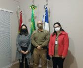 CliniPOM Joinville visita o 27º BPM e 4ª CIA do 7º BBM
